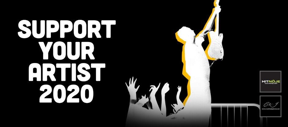 #supportyourartist2020