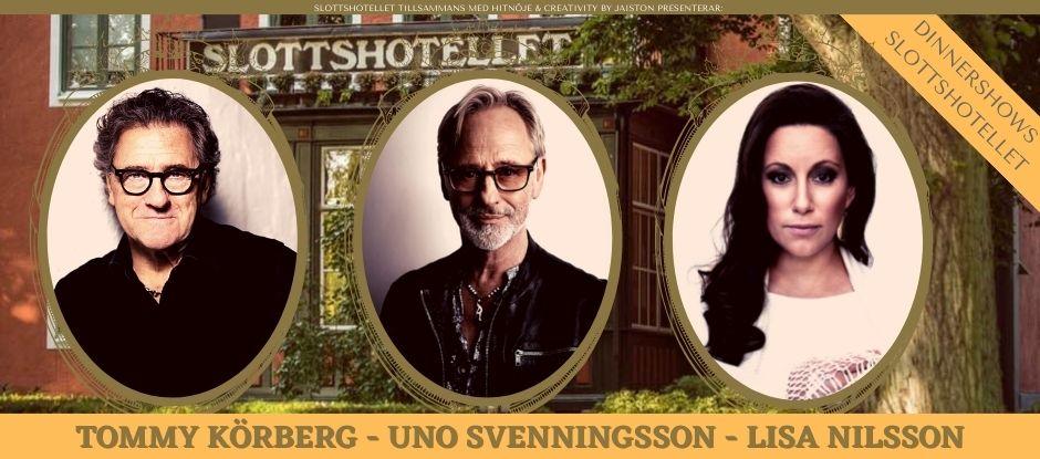 Dinnershows på Slottshotellet i Kalmar